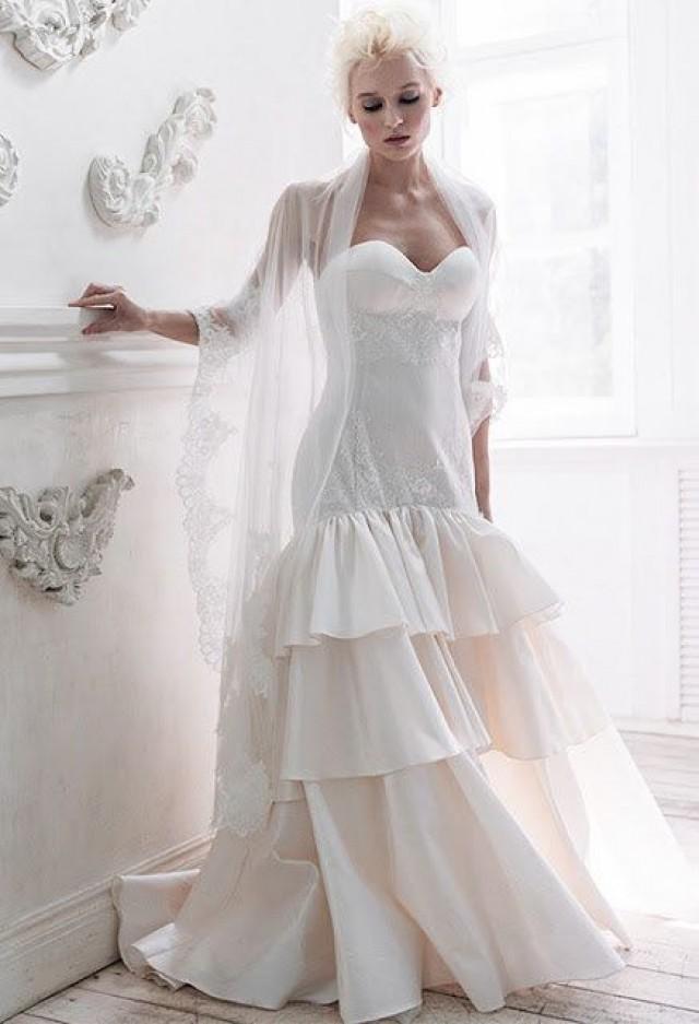 Nephthys Low Back Wedding Dress Alternative Unique Mermaid Silk Backless 2715031