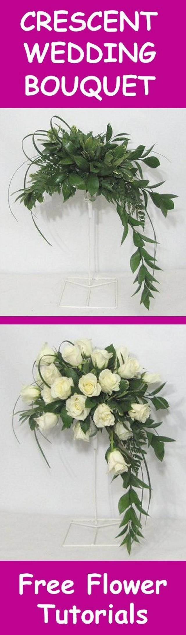 fresh flower wedding bouquet easy diy flower tutorials 2717982 weddbook. Black Bedroom Furniture Sets. Home Design Ideas