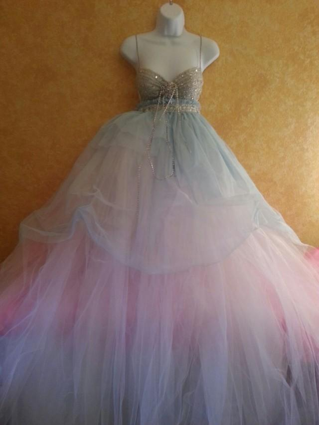 Sample Gown Listing / Blue Angel Goddess Bohemian Babydoll Tulle ...