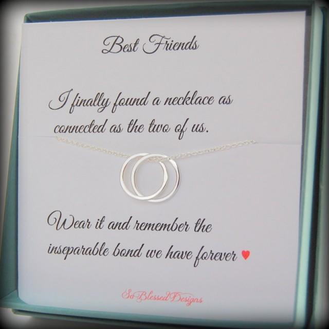 friendship card Best friend Gift Birthday Gift for her Personalized card for best friend Friendship Jewelry Graduation gift