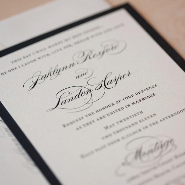 Elegant Wedding Invitation Clic