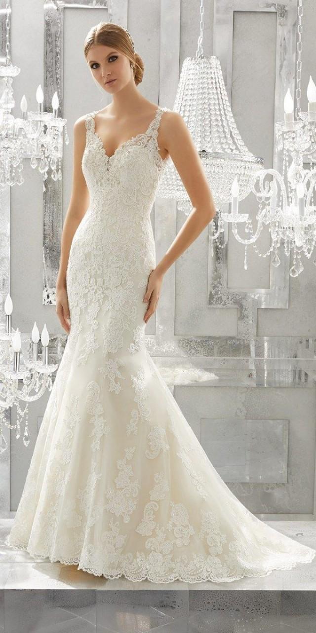 Gemütlich Mori Lee Vintage Brautkleider Bilder - Hochzeit Kleid ...