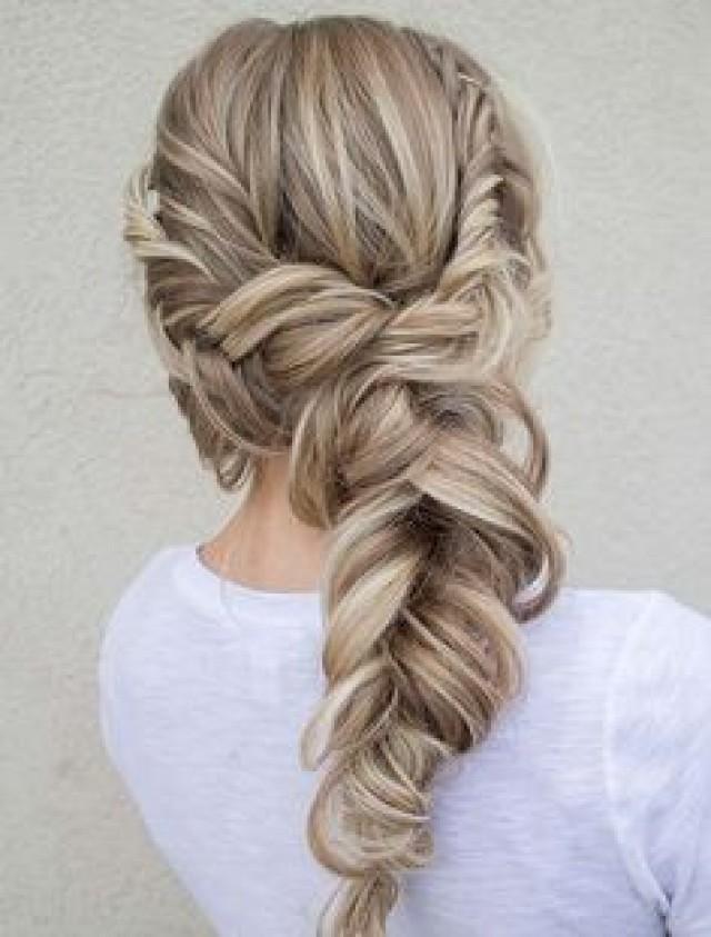 Hair , Side Swept Wedding Hairstyles 2731667 , Weddbook