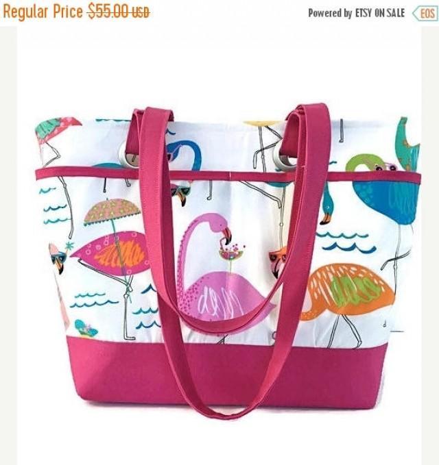 Travel Whimsical Pink Shoe Bag