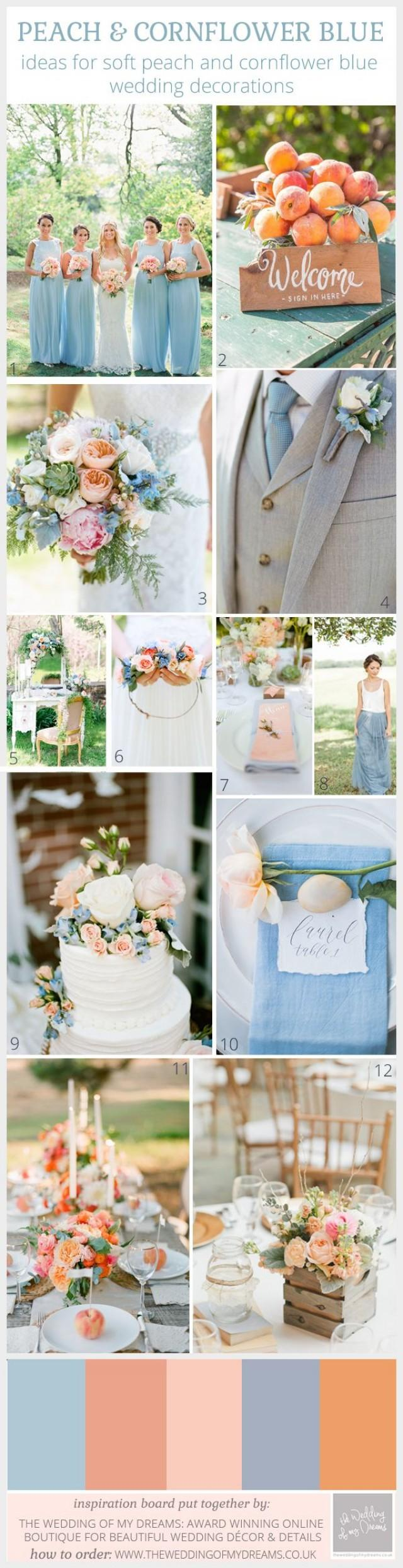 Teal And Copper Wedding Decorations  from s3.weddbook.me