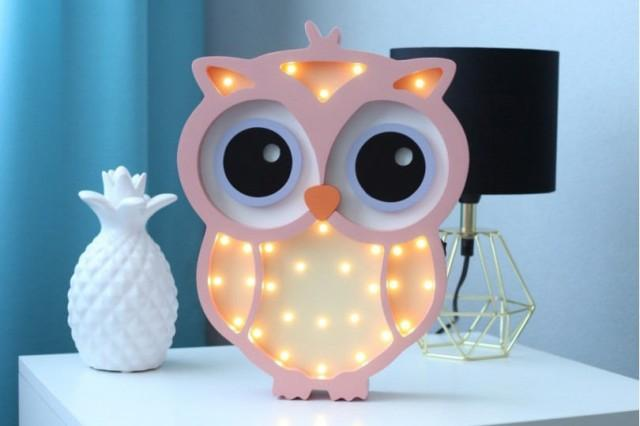 night light for baby nightlight owl gift for baby night. Black Bedroom Furniture Sets. Home Design Ideas