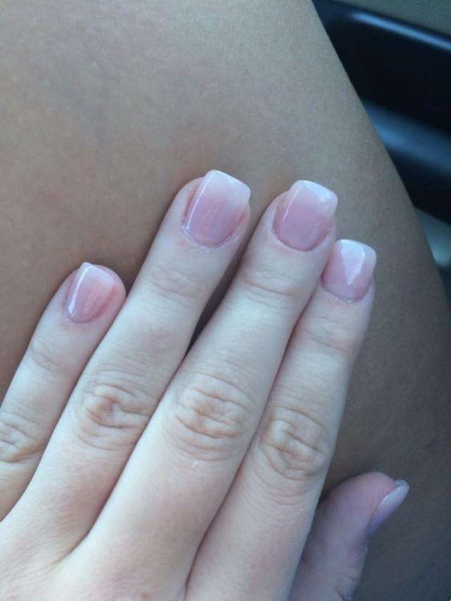 Natural acrylic nails tumblr