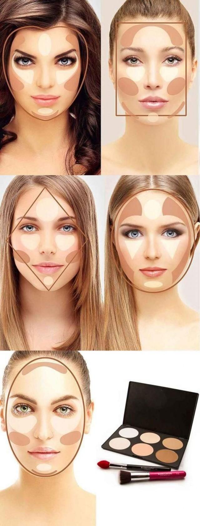 Makeup contour
