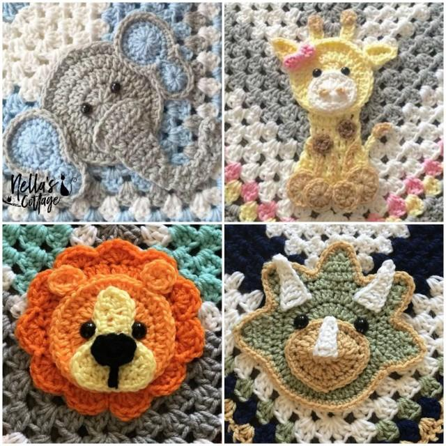 Crochet Zoo Animals Pdf Download Pattern Only Lion