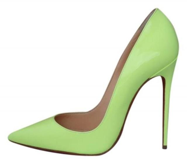 Christian Louboutin So Kate Ombré Patent Leather Pumps in
