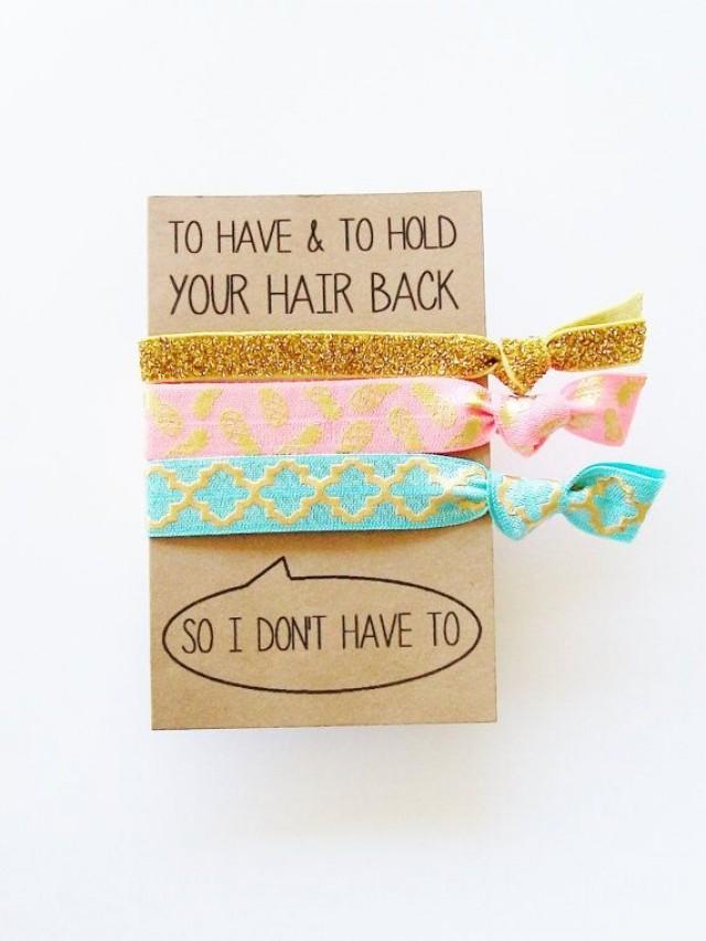 Nautical Party Favor Bachelorette Survival Kit Lets Get Nauti Crew Birthday Hair Tie Gift 2768679