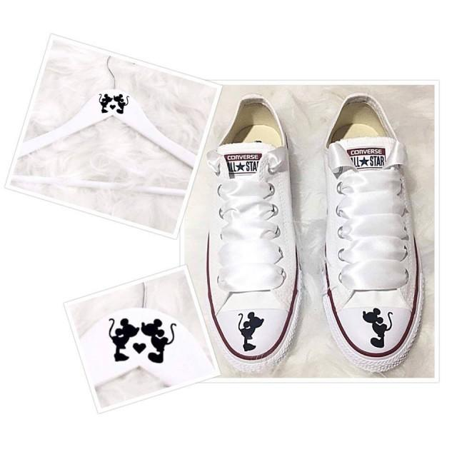 Mickey Mouse And Minnie Mouse Wedding Shoes Stickers Shoe Decal Vinyl Stickers Shoe Decal