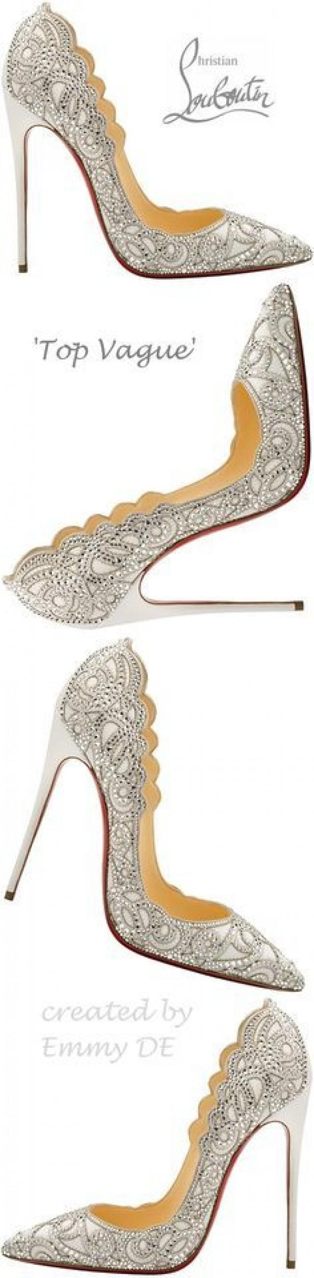 online retailer 1adad 8a884 Christian Louboutin Outlet Red Bottom Shoes #2772597 - Weddbook