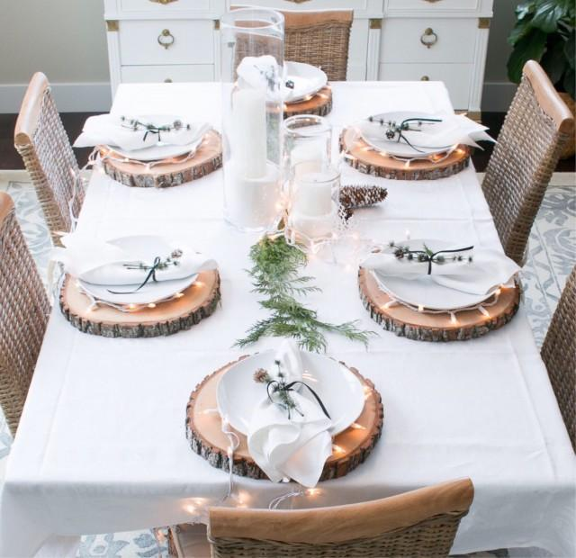 """Rustic Wedding Decorations For Indoor And Outdoor Settings: 14"""" TREATED Wood Slice! Table Centerpiece, Table Decor"""
