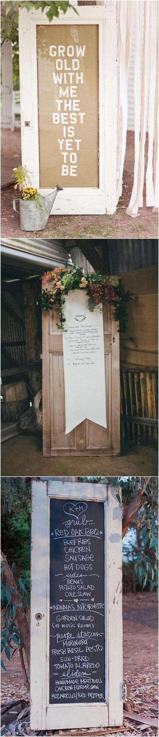 18 Wedding Decoration Ideas With Vintage Old Doors - Page 2 ...