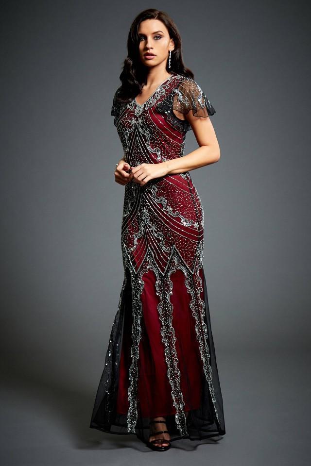 Art Deco Dresses Plus Size Solidaphikworks