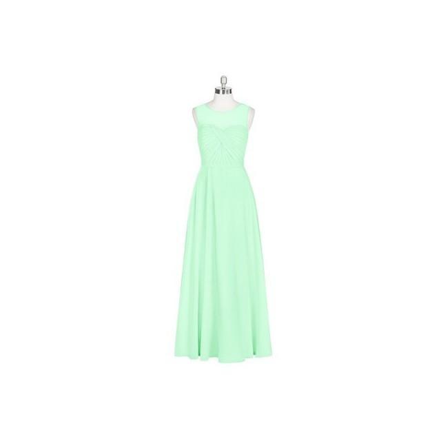 98ad1cf2218 Mint green Azazie Justine - Chiffon Floor Length Illusion Sweetheart Dress  - Cheap Gorgeous Bridesmaids Store  2796277 - Weddbook
