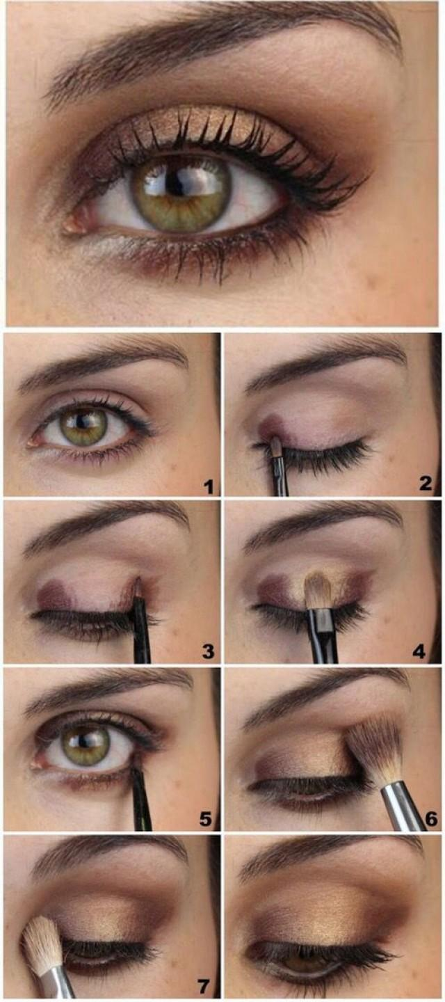 Makeup ideas for hazel eyes and brown hair
