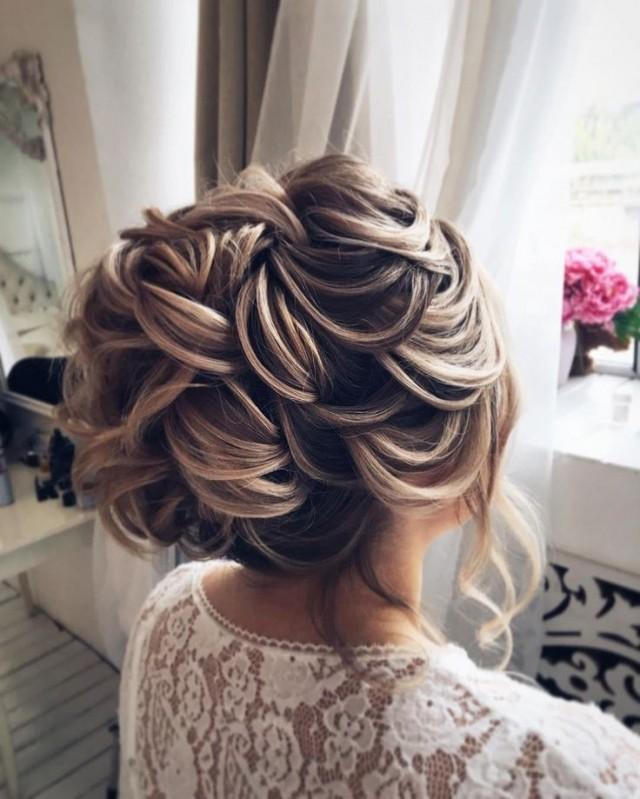 Top 20 Fabulous Updo Wedding Hairstyles: Fabulous Updo Wedding Hairstyles With Glamour #2805995