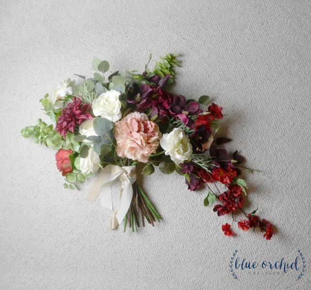 Wedding Bouquet Statement Bouquet Cascade Bouquet Garden