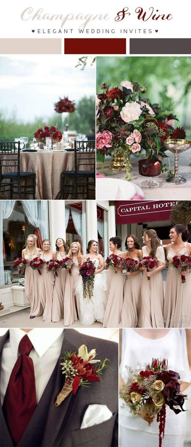 Top 10 Wedding Color Scheme Ideas For 10 Trends #10 - Weddbook