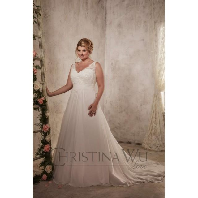 Eternity Bride Plus Size Dresses Style 29271 By Love By Christina