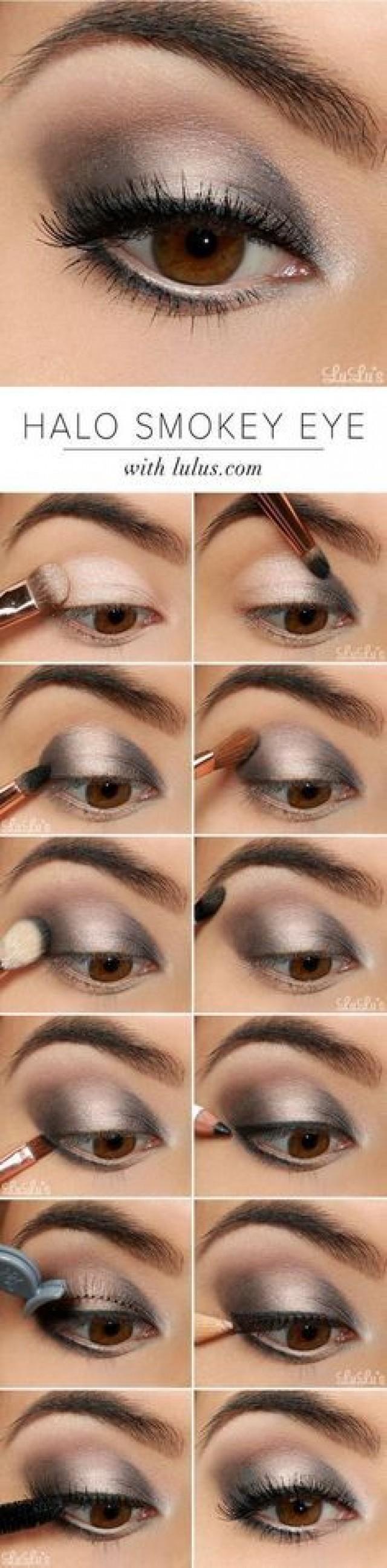 10 Quick Easy Step By Step Smokey Eye Makeup Tutorials 2818211 Weddbook