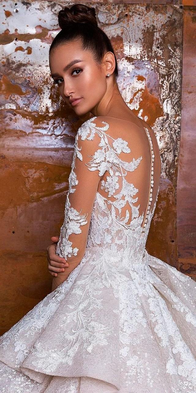 b42fa9faf7b4 27 Stunning Trend  Tattoo Effect Wedding Dresses  2818801 - Weddbook