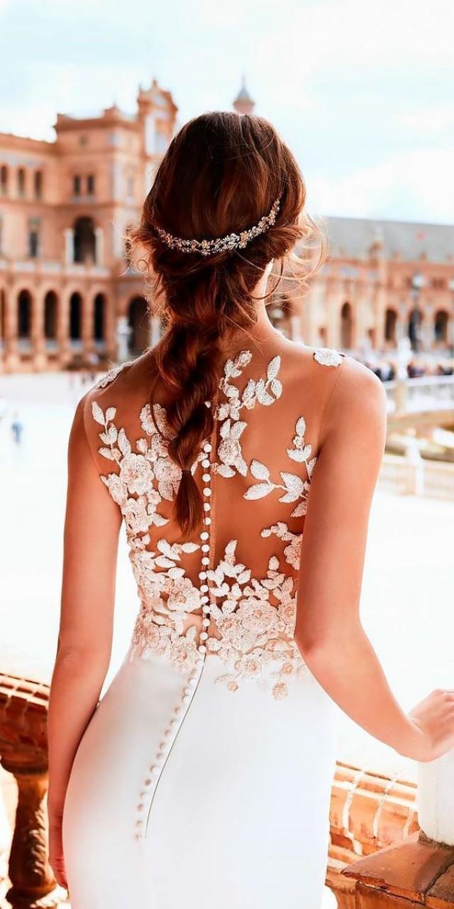 fcb69cef28a9 27 Stunning Trend  Tattoo Effect Wedding Dresses  2818806 - Weddbook