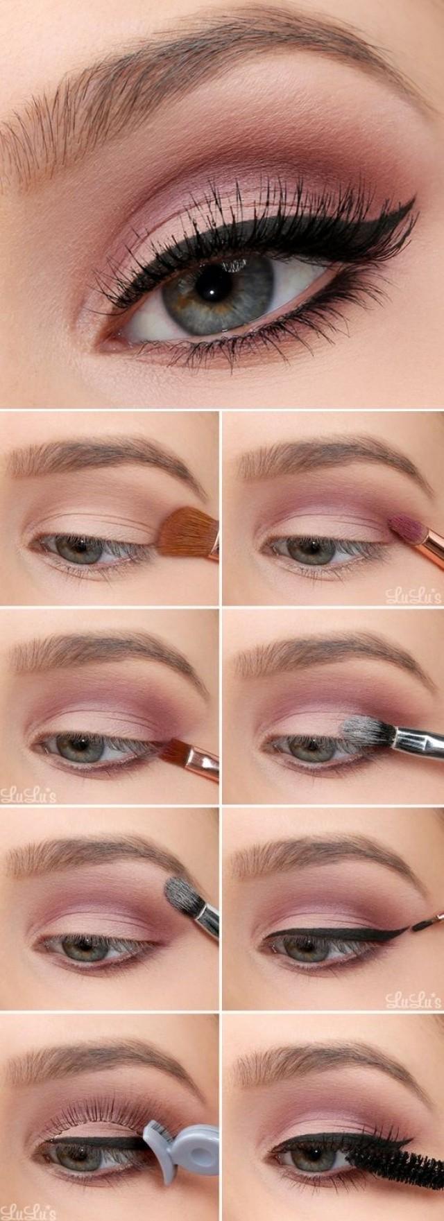 10 Hermosas Ideas Para Pintar Tus Ojos De Rosa 2820734 Weddbook