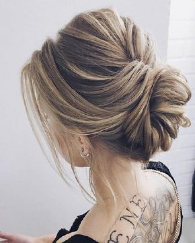 Elegant Updo Wedding Hairstyle Inspiration 2821223 Weddbook