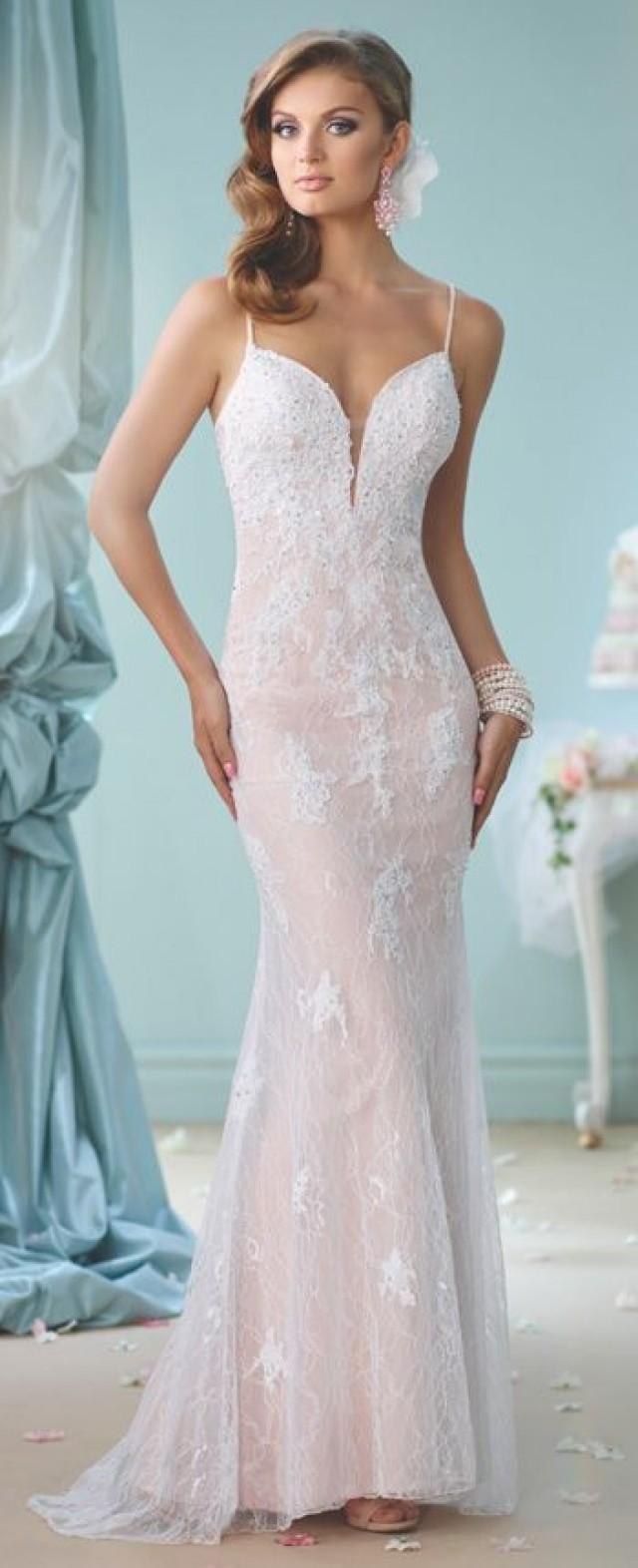 Dress - Modern Wedding Dresses 2018 By Mon Cheri #2825027 - Weddbook