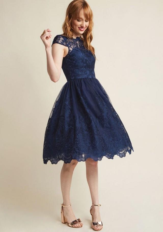 8091ac014ca4 Chi Chi London Exquisite Elegance Lace Dress In Lake  2825980 - Weddbook