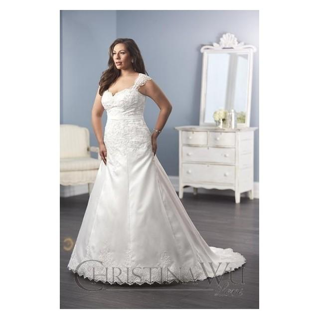 Christina Wu Love 29286 Wedding Dress Plus Size Wedding A Line