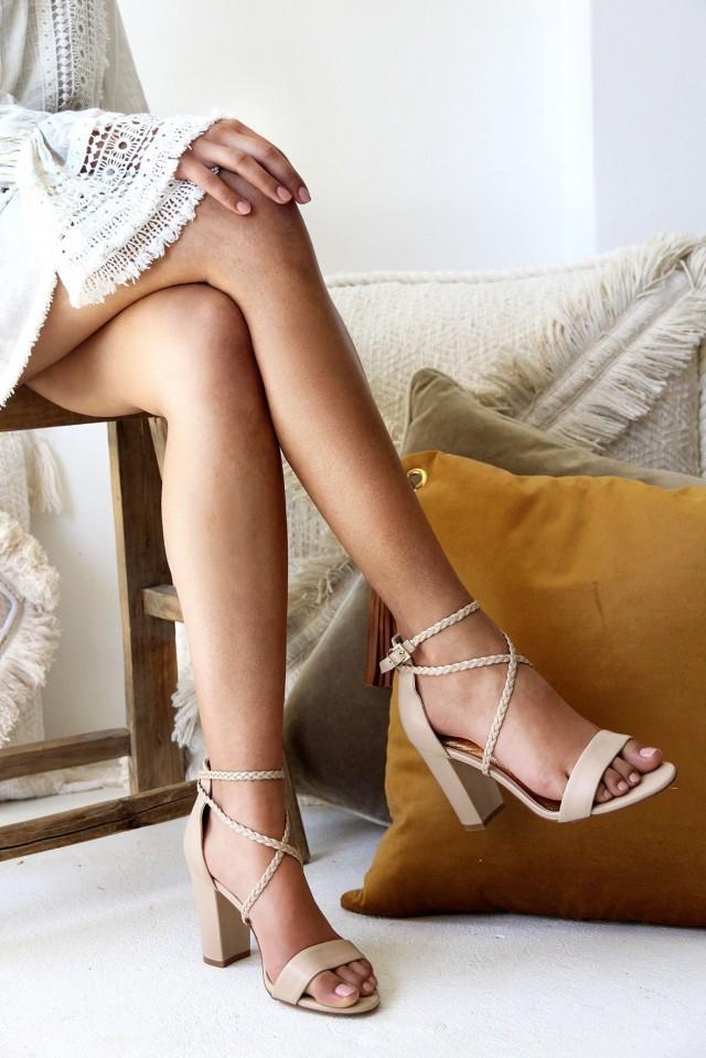 designer wedding shoes block heel