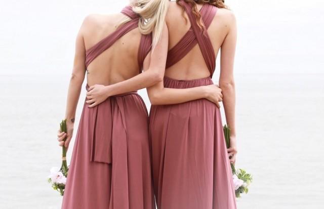 Infinity Dress Multiway Dress Wrap Dress Wedding Dress Prom Dress Bridesmaid Dress Maternity Dress Maxi Dress Convertible Dress