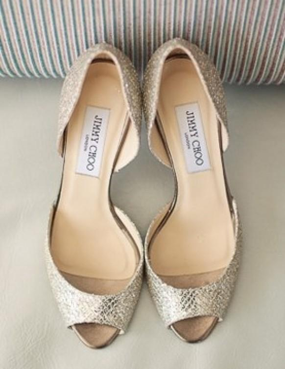 2ae2ccea86d99 Silver Sparkly Wedding Shoes ♥ Jimmy Choo Bridal Shoes Collection  796550 -  Weddbook