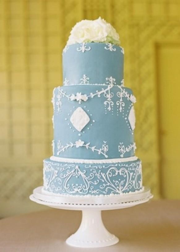 Fondant Cake - Fondant Wedding Cakes #796766 - Weddbook