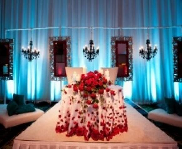 Red And Blue Cleveland Indian Wedding Reception 797101 Weddbook