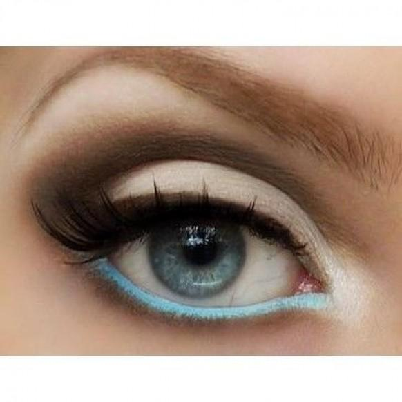 Pop Color Eye Makeup ♥ False Eyelashes For Your Wedding ...