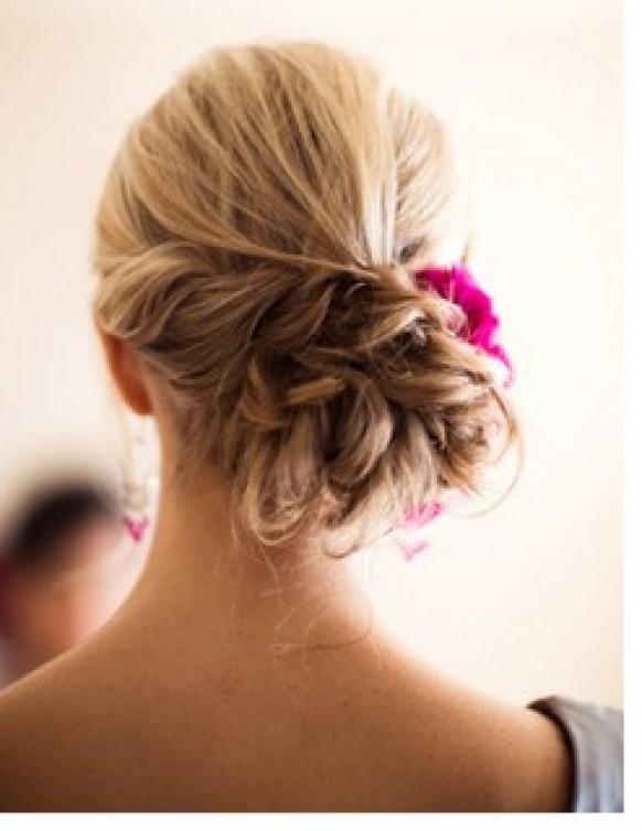 Bun Hair Model - Hair Styles #903765 - Weddbook