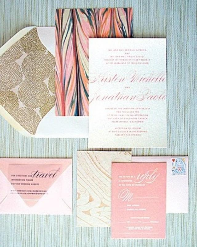 pink and gold wedding invitations pink gold and navy wedding invitations 2032696 weddbook 6559