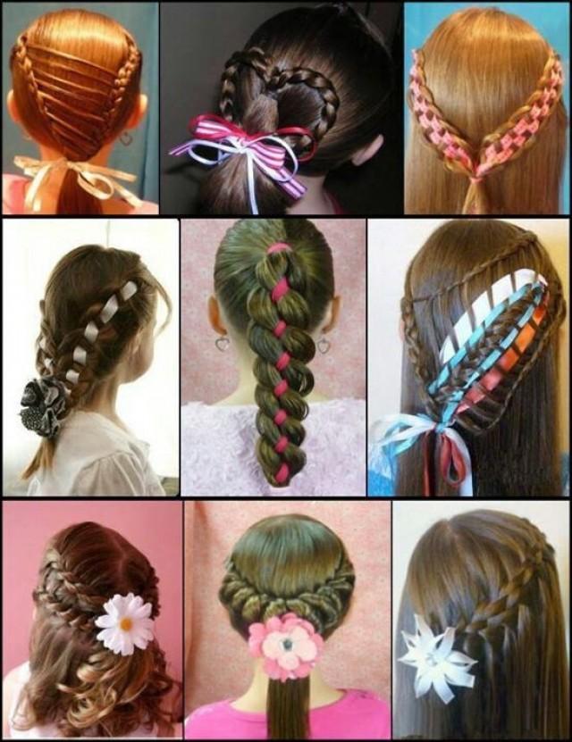 Varios peinados peinados niña Galeria De Cortes De Cabello Estilo - Wedding Hairstyles - Peinados De Nina #2033214 - Weddbook