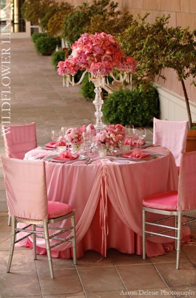 Blush Wedding - Pink Table #2053380 - Weddbook