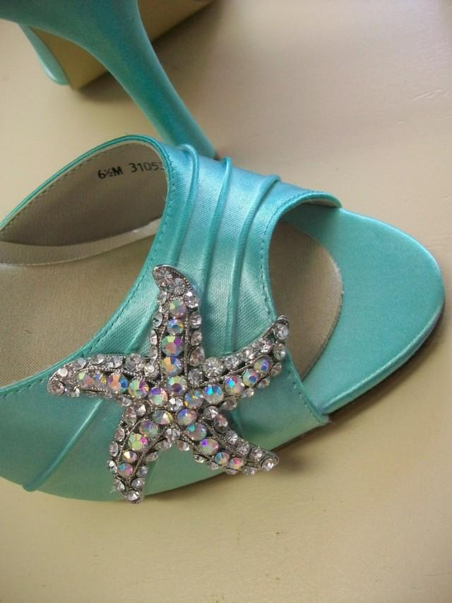 tiffany blue wedding shoes wedding shoes starfish shoes wedding peep toe 8002