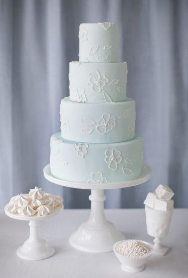 light blue and brown wedding cakes wedding cupcakes light blue wedding cake 2058291 weddbook 16845