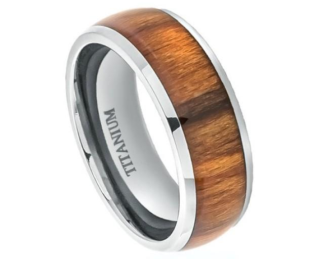 wooden wedding rings for men wood rings titanium wedding band titanium ring promise 1494