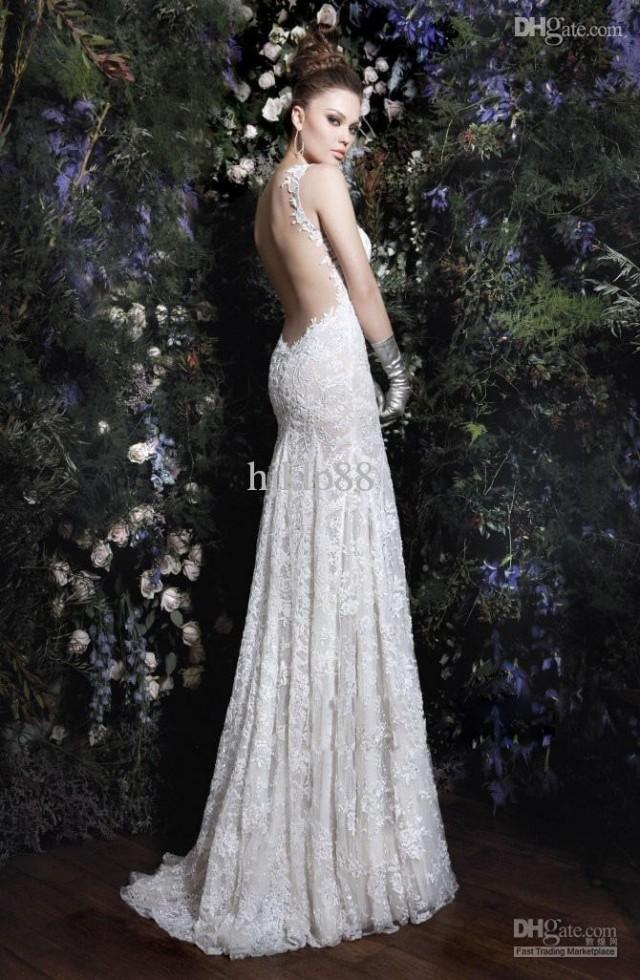 sell my wedding dress to a store galia lahav 2013 new sell backless elegent lace 7289