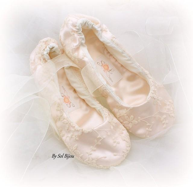 ballerina shoes for wedding lace ballet flats wedding bridal shoes flower 1464