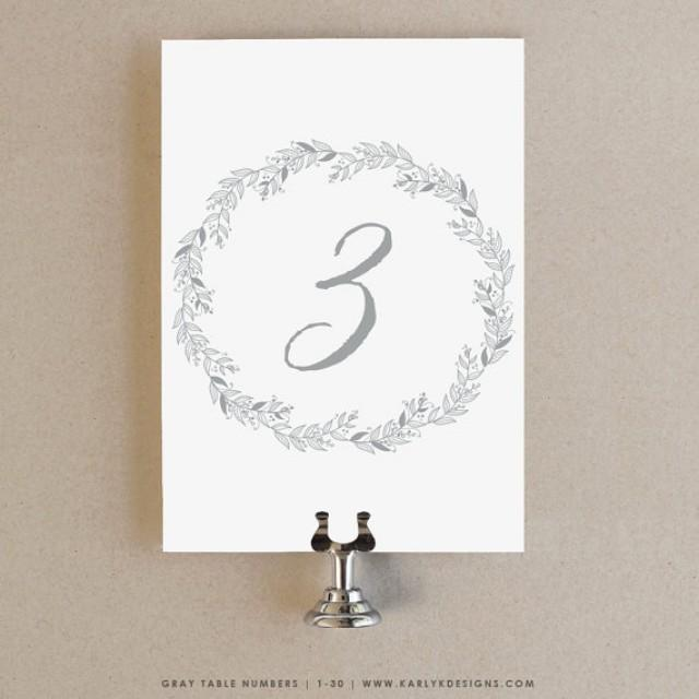 It is a photo of Free Printable Table Numbers 1 30 in tropical wedding